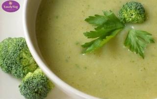 Brokkoli krémleves vegán