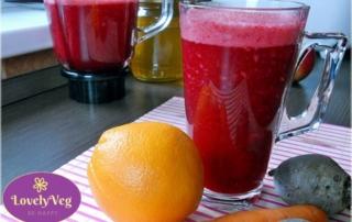 cékla turmix naranccsal és répával