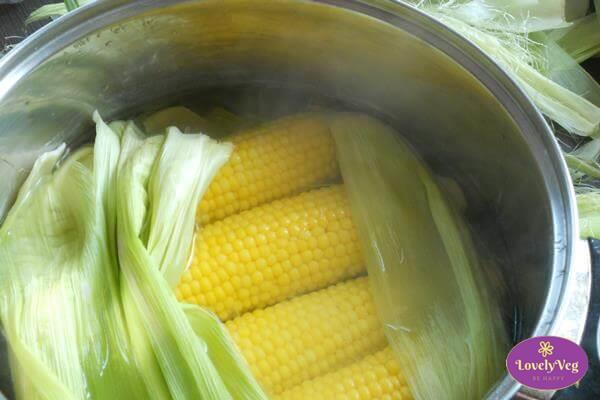 Csemege kukorica főzése - Főtt kukorica készítése