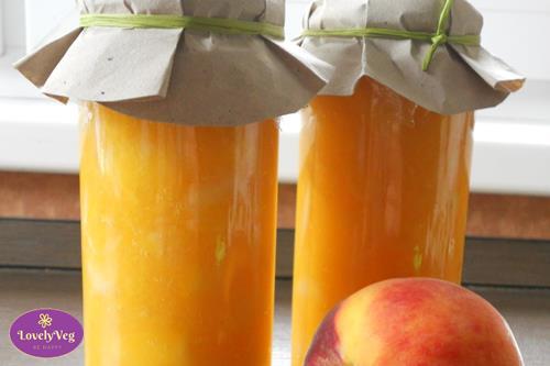 Cukormentes őszibarack dzsem recept