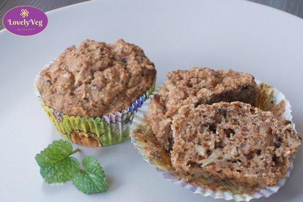 diétás almás muffin