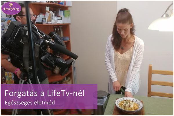 LifeTv forgatás - Egészséges életmód