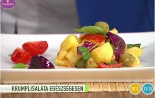 Egészséges krumplisaláta - Mediterrán krumplisaláta