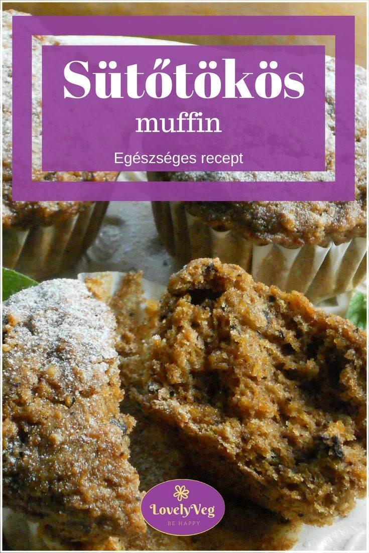 egészséges sütőtökös muffin