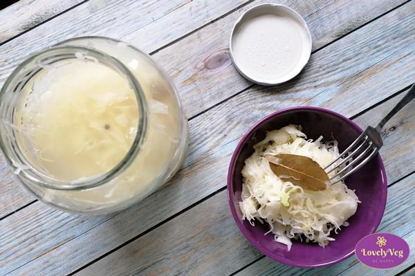 Kovászos káposzta krumplival, Gluténmentes kovászos káposzta, kovászolt káposzta krumplival