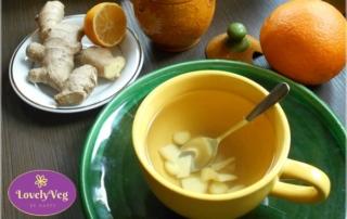 gyömbér tea készítése - gyömber tea recept