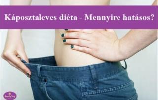 Káposztaleves diéta - Mennyire hatásos?