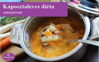 Káposztaleves diéta mintaétrend