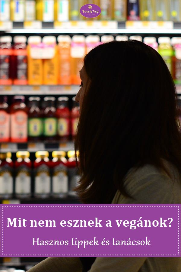 Mit nem esznek a vegánok?