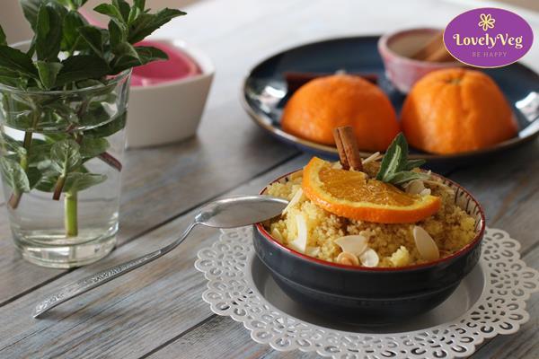 narancsos-mandulás édes kuszkusz