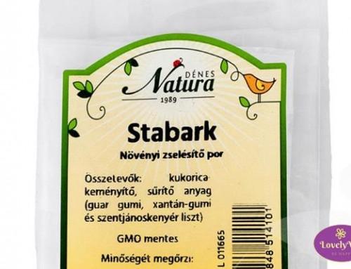 Stabark – A növényi zselésítő