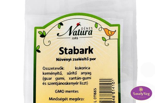 Stabark, stabark felhasználása - növényi zselésítő