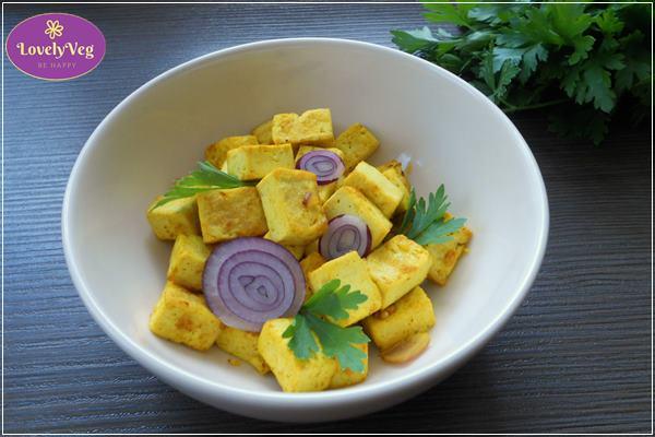 sült tofu