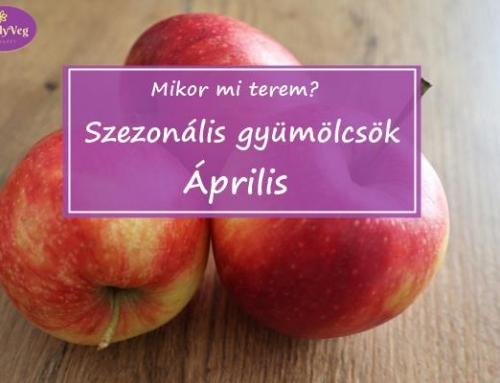 Mikor mi terem? – Szezonális gyümölcsök: Április