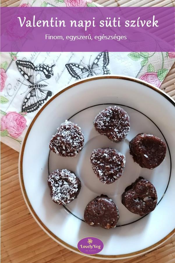 Valentin napi süti szívek