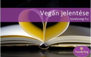 vegán jelentése
