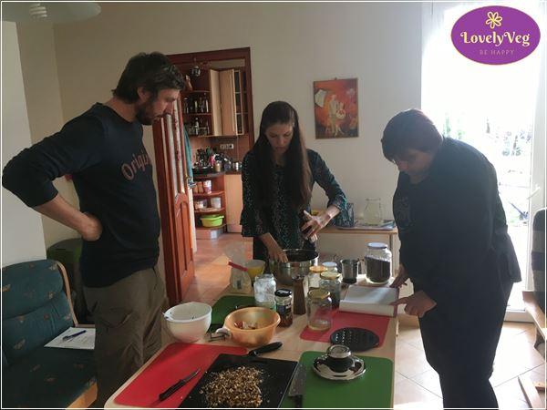 Vegán karácsony főzőtanfolyam élménybeszámoló