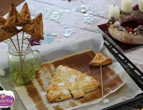 Vegán karácsonyfa süti + 1 vendégváró finomság