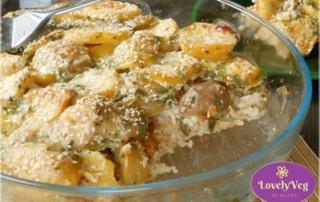 Vegán rakott krumpli bulgurral - Szuper finom és egészséges!
