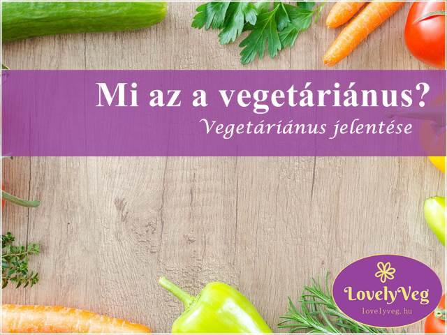 Vegetáriánus jelentése