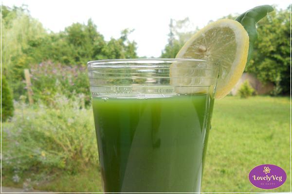 zöld turmix alaprecept