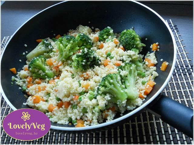 Zöldséges brokkoli